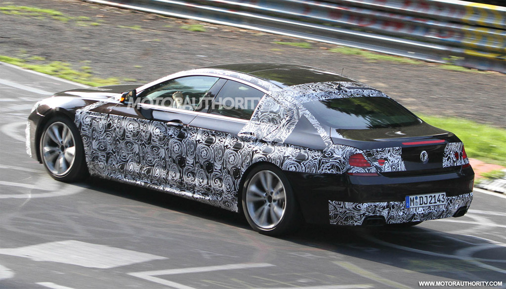 2013 bmw 6 series gran coupe with m sports package spy shots. Black Bedroom Furniture Sets. Home Design Ideas