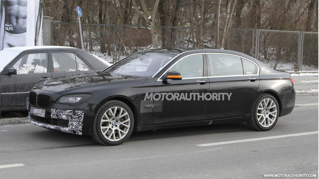 2013 bmw 7 series spy shots. Black Bedroom Furniture Sets. Home Design Ideas