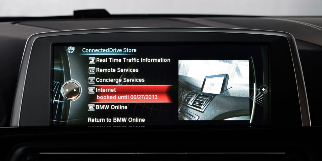 Future Bmws To Come With Sim Cards Access To New