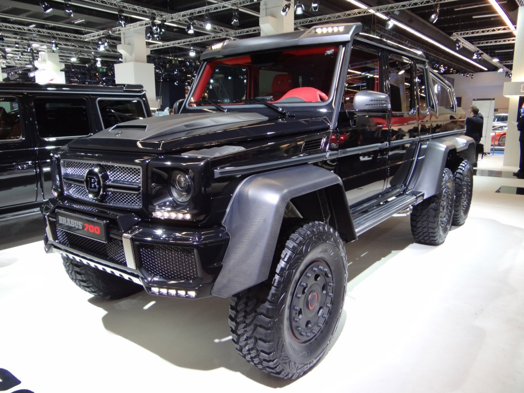 2013 brabus b63s is an exercise in delightful insanity for Mercedes benz g63 amg 6x6 price