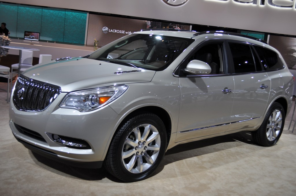 2013 buick enclave pictures photos gallery green car reports. Black Bedroom Furniture Sets. Home Design Ideas