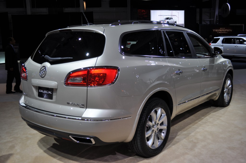 2013 buick enclave pictures photos gallery motorauthority. Black Bedroom Furniture Sets. Home Design Ideas