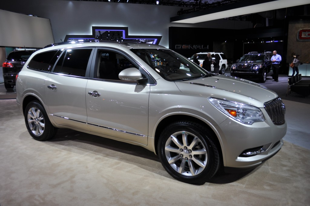 2013 Buick Enclave Pictures/Photos Gallery - MotorAuthority