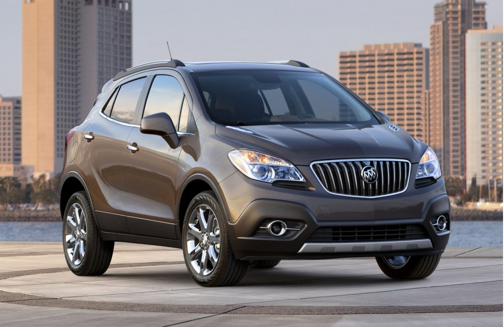 2013 buick encore crossover crossover due early next year. Black Bedroom Furniture Sets. Home Design Ideas