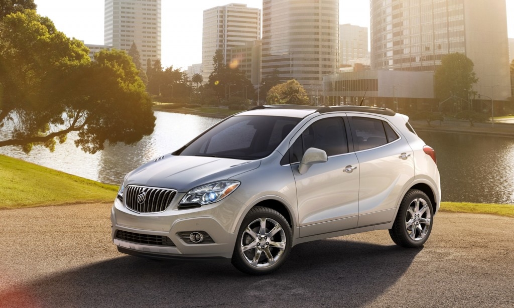 2013 buick encore crossover priced from 24 950. Black Bedroom Furniture Sets. Home Design Ideas