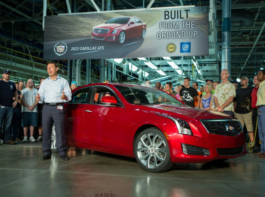 2013 Cadillac Ats Production Starts Deliveries In August