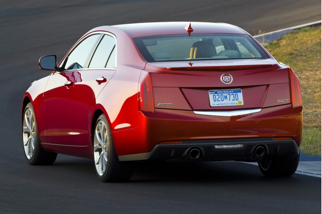2013 cadillac ats first drive. Black Bedroom Furniture Sets. Home Design Ideas