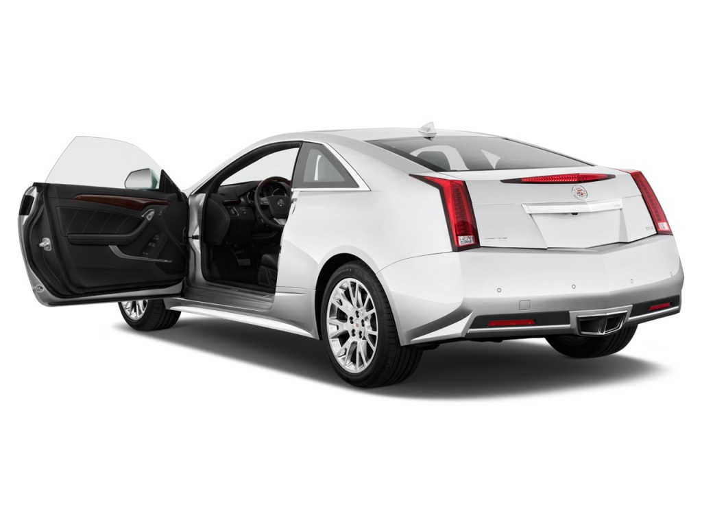 Image 2013 Cadillac Cts 2 Door Coupe Premium Rwd Open
