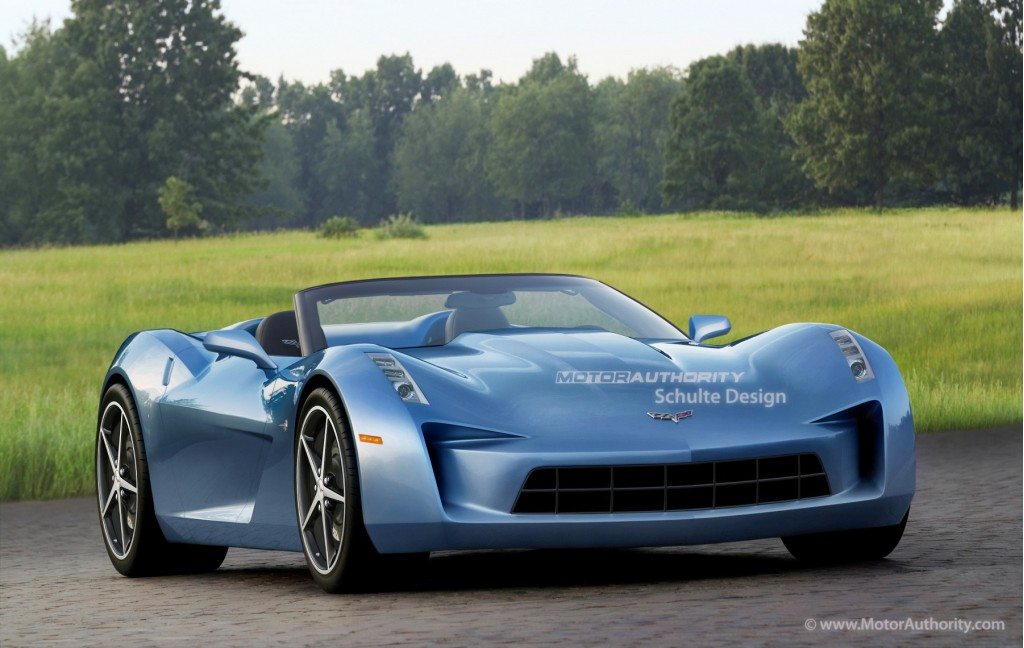 rendered 2013 chevrolet corvette c7. Cars Review. Best American Auto & Cars Review