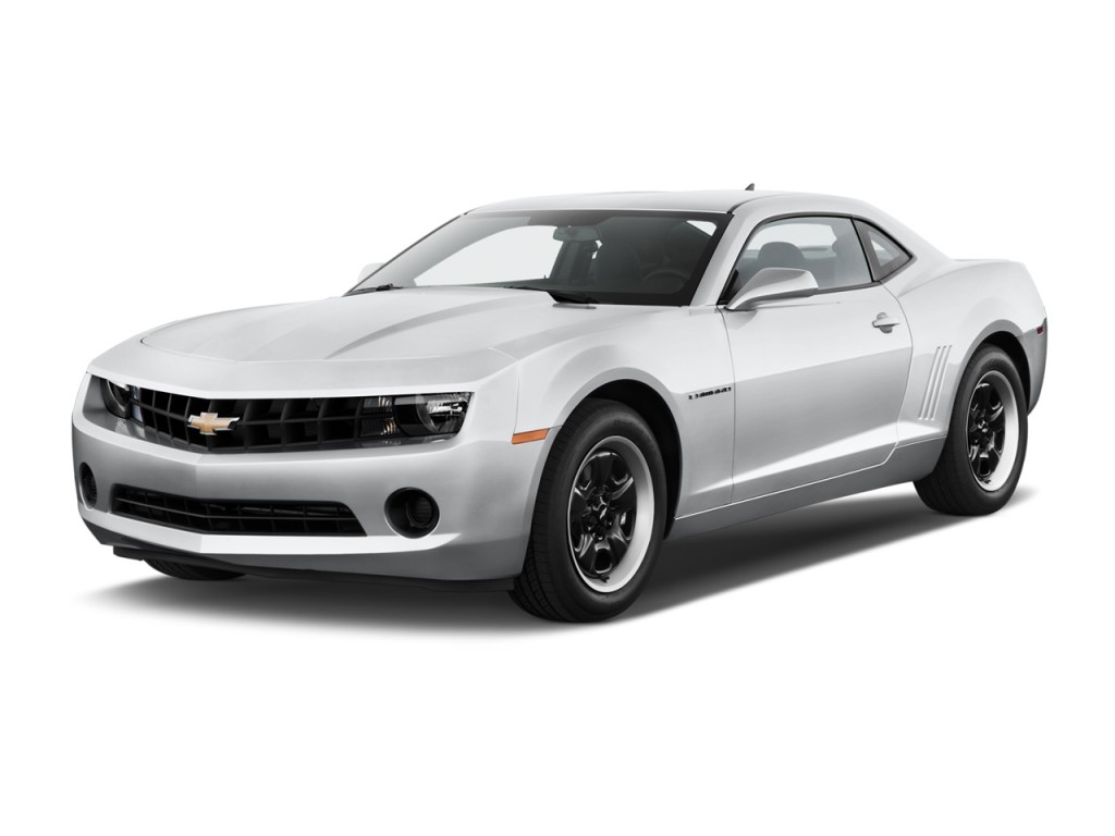 2013 chevrolet camaro 2 door coupe ls w 1ls angular front exterior view. Black Bedroom Furniture Sets. Home Design Ideas