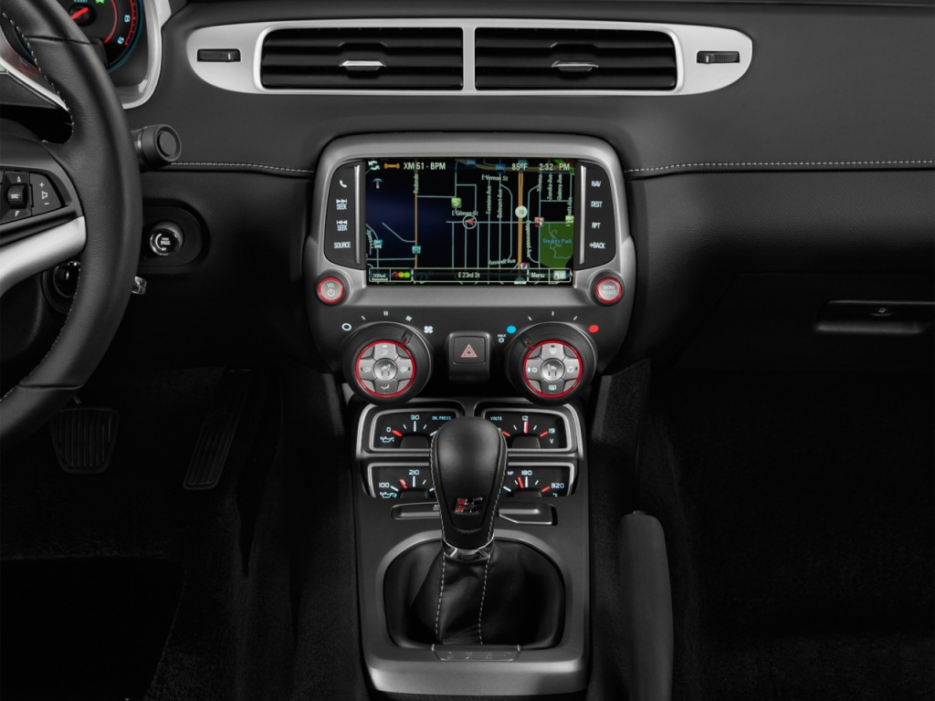 Instrument Panel - 2013 Chevrolet Camaro 2-door Coupe SS w/1SS