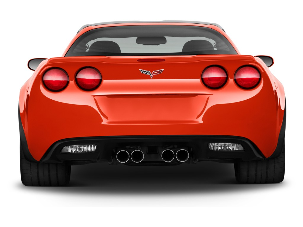 Image 2013 Chevrolet Corvette 2 Door Coupe Z06 W 1lz Rear