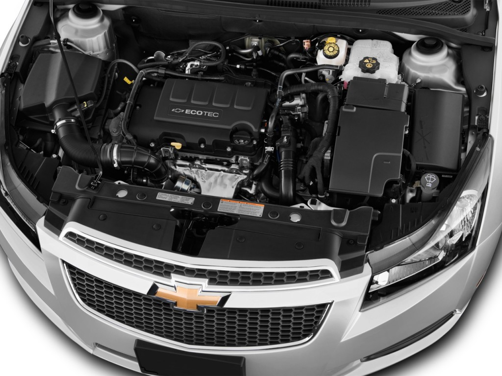 Image: 2013 Chevrolet Cruze 4-door Sedan Auto LS Engine ...