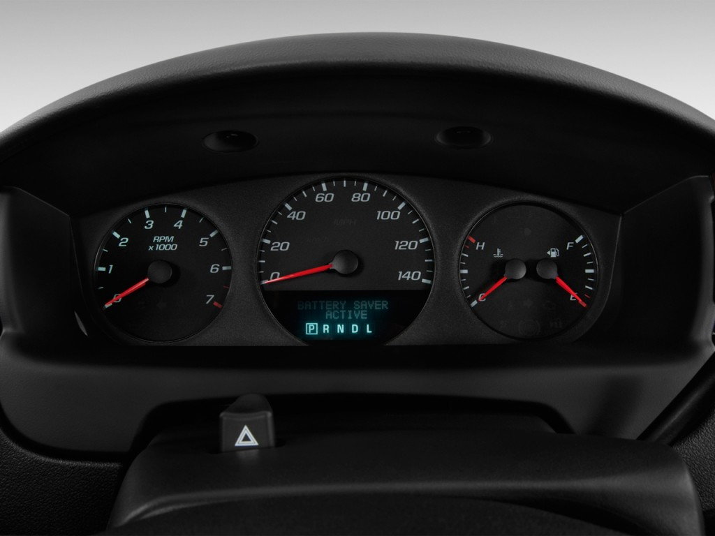 2004 chevy impala instrument cluster recall