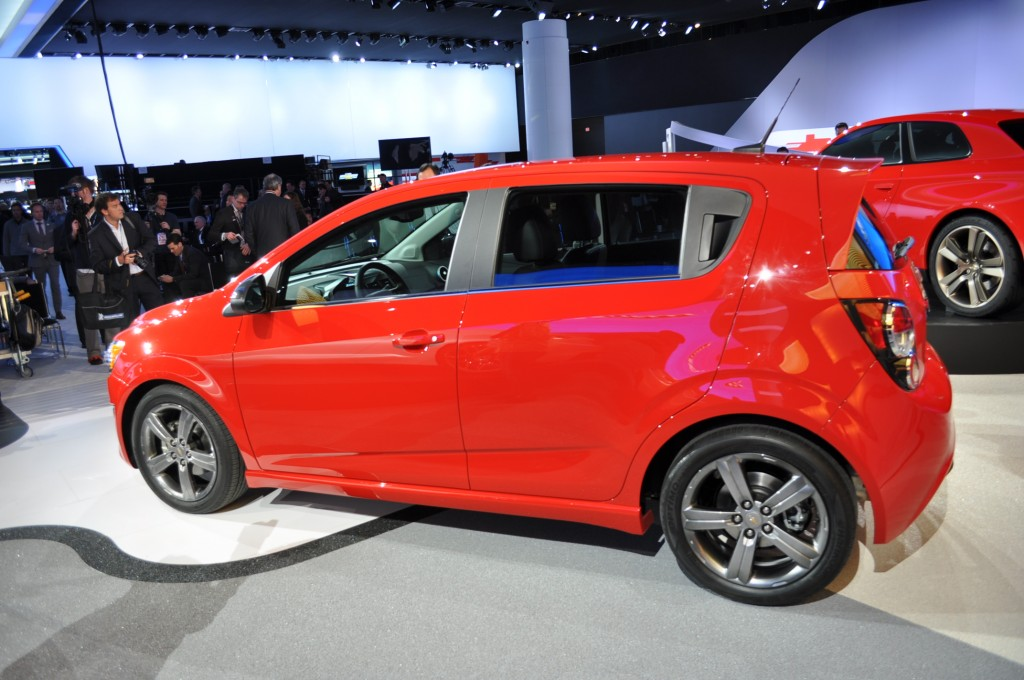 2013 chevrolet sonic rs priced at 20 995 no gas mileage yet. Black Bedroom Furniture Sets. Home Design Ideas