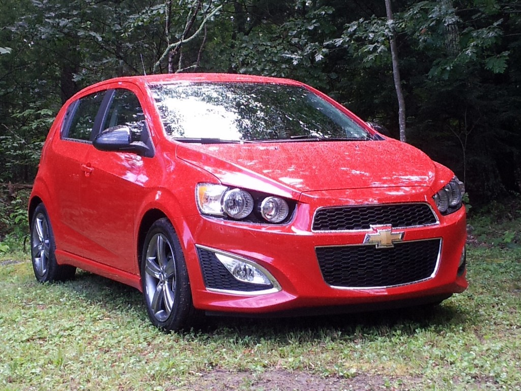 Chevy Sonic - Photo from Green Car Reports