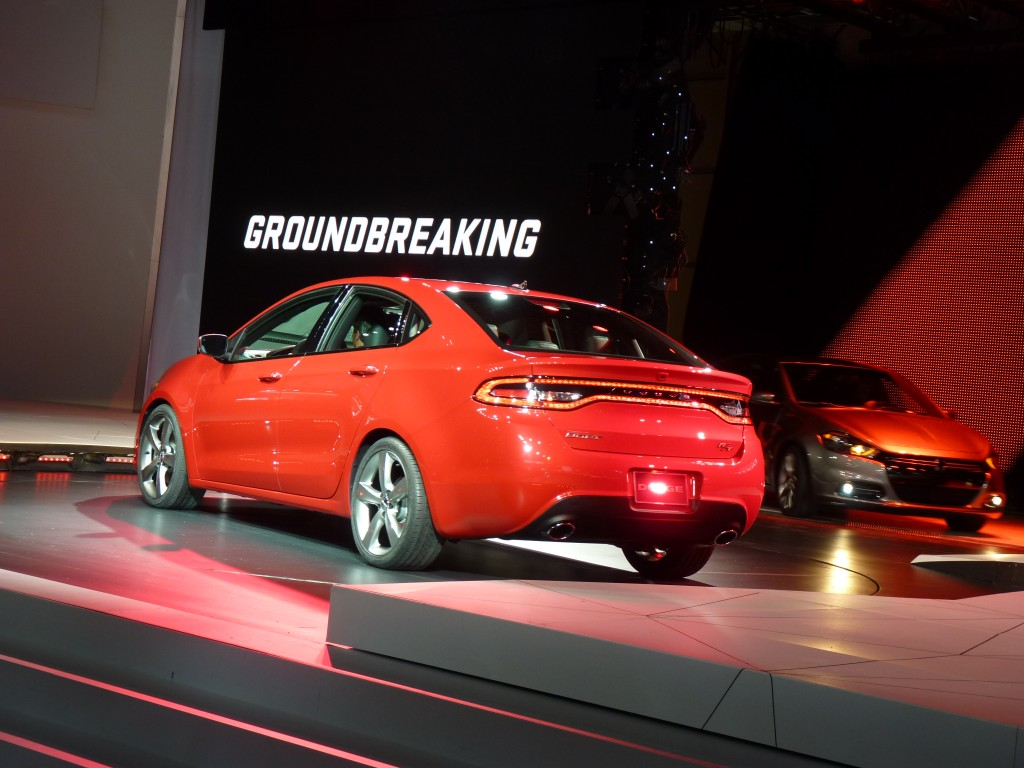 image 2013 dodge dart 2012 detroit auto show size. Black Bedroom Furniture Sets. Home Design Ideas