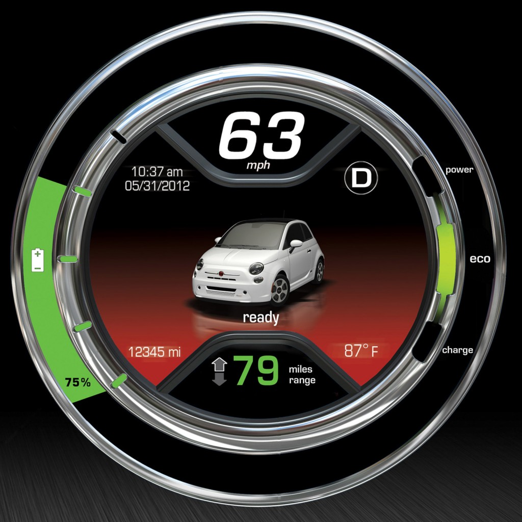 2013 Fiat 500e