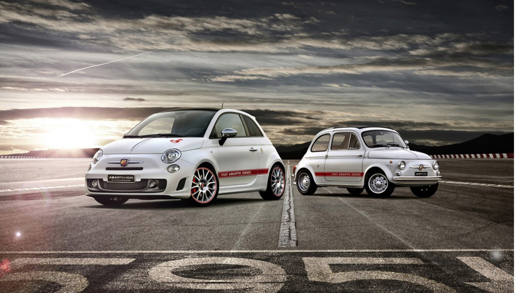 fiat celebrates abarth 595 s 50th anniversary with special 500. Black Bedroom Furniture Sets. Home Design Ideas