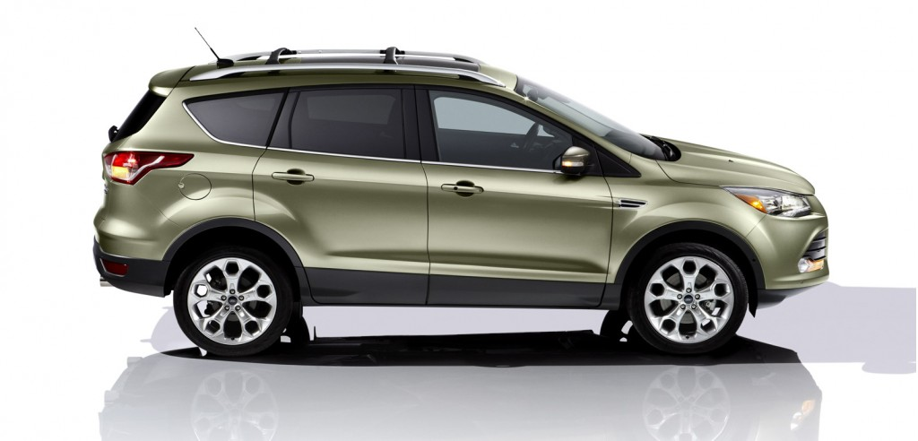 2017 Ford Escape Towing Capacity >> 2013 Ford Escape (Kuga) Debuts At 2011 Los Angeles Auto Show