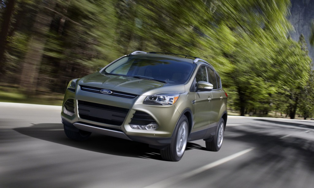 2013 ford escape kuga debuts at 2011 los angeles auto show. Black Bedroom Furniture Sets. Home Design Ideas