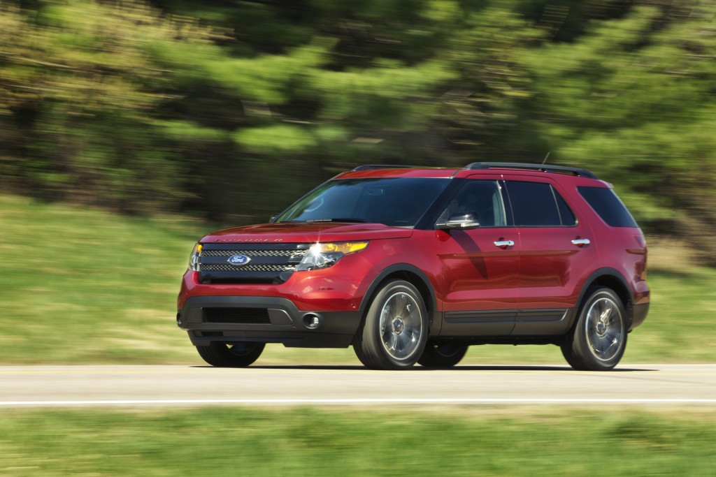 2013 ford explorer sport blends performance and fuel economy. Cars Review. Best American Auto & Cars Review