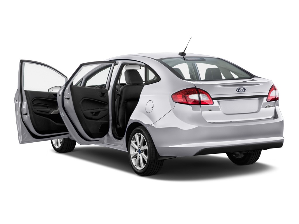 Image: 2013 Ford Fiesta 4-door Sedan SE Open Doors, size ...