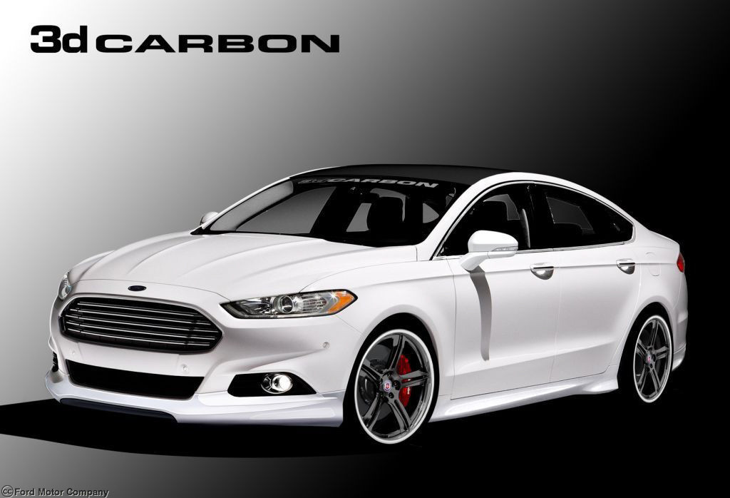 Ford Mondeo 2015 White >> Ford Showing Off Four Tuned Fusion Sedans At SEMA