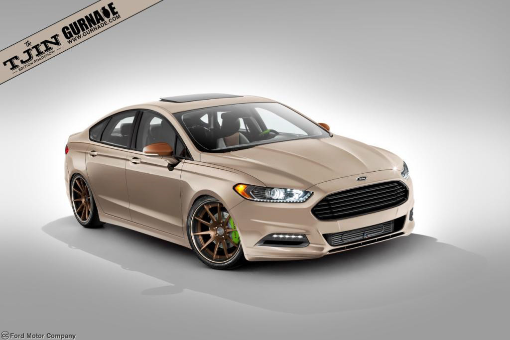 Ford Showing Off Four Tuned Fusion Sedans At Sema