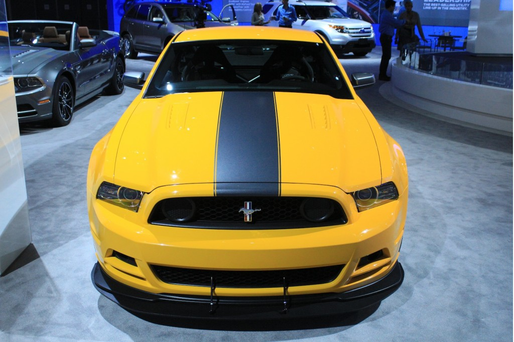 2013 ford mustang boss 302 live photos 2011 l a auto show for Charity motors on grand river
