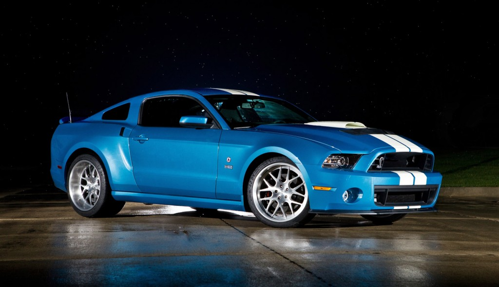 Shelby Honored With 850-HP 2013 Ford Mustang Shelby GT500 Cobra