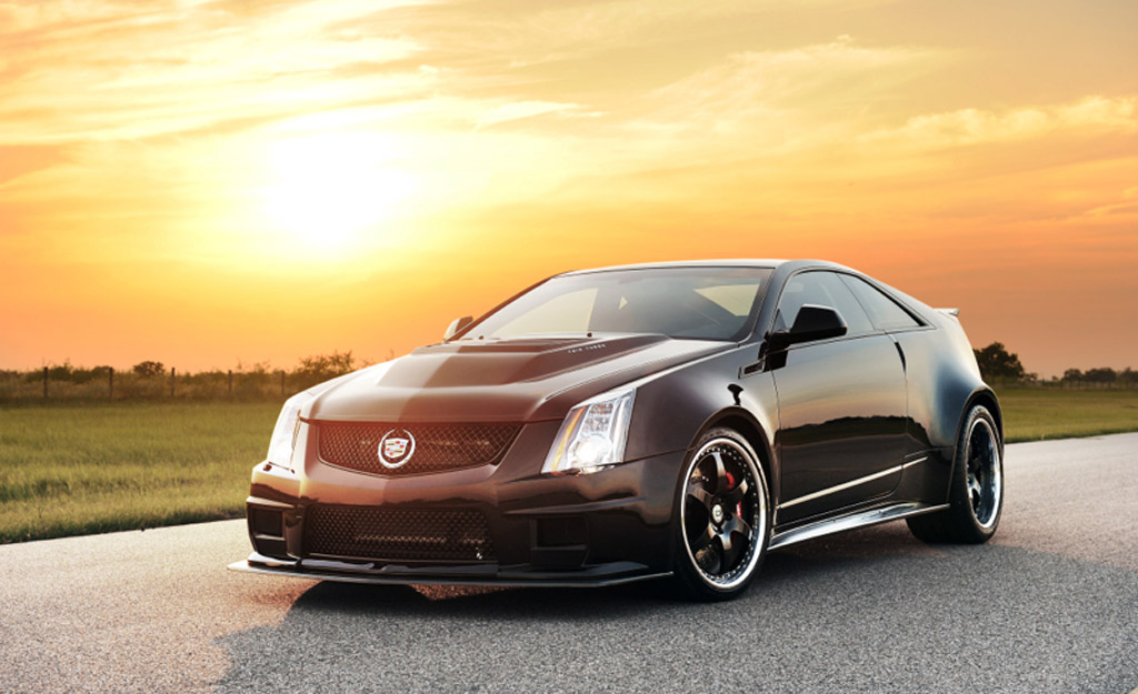 hennessey unleashes 1 226 hp cadillac cts v coupe video. Black Bedroom Furniture Sets. Home Design Ideas