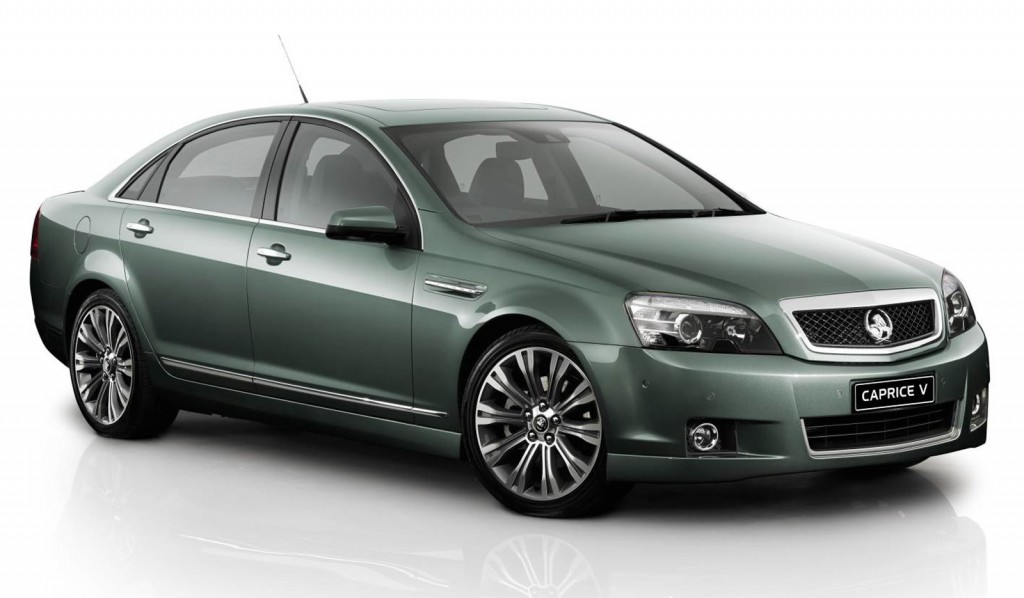 Holden Reveals New Caprice Plans Exports To U S As Chevy