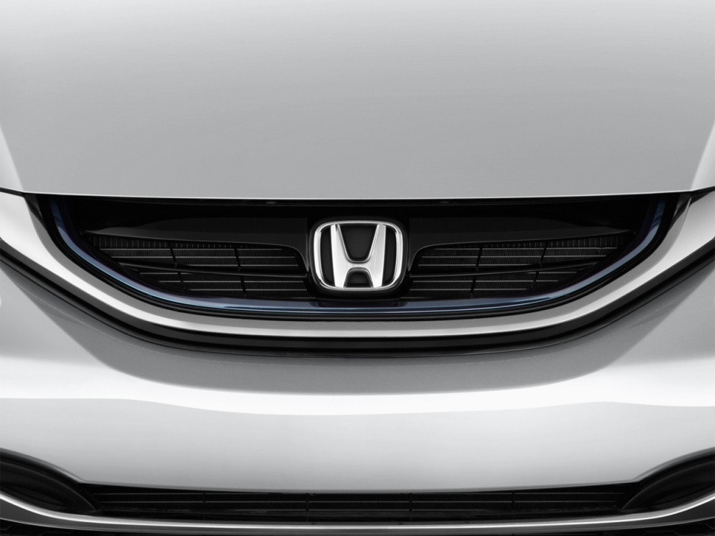 Image 2013 honda civic hybrid 4 door sedan l4 cvt grille for Honda odyssey life expectancy