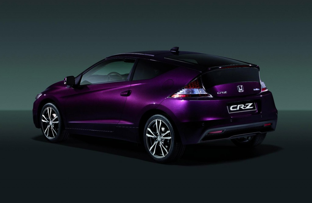 2013 honda cr z hybrid coupe more power new battery updated style. Black Bedroom Furniture Sets. Home Design Ideas