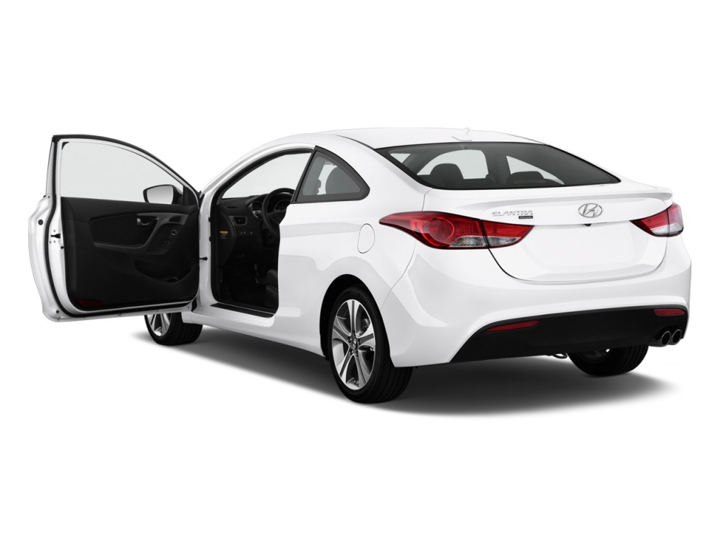 2013 hyundai elantra coupe pictures photos gallery green for Door 2 door cars