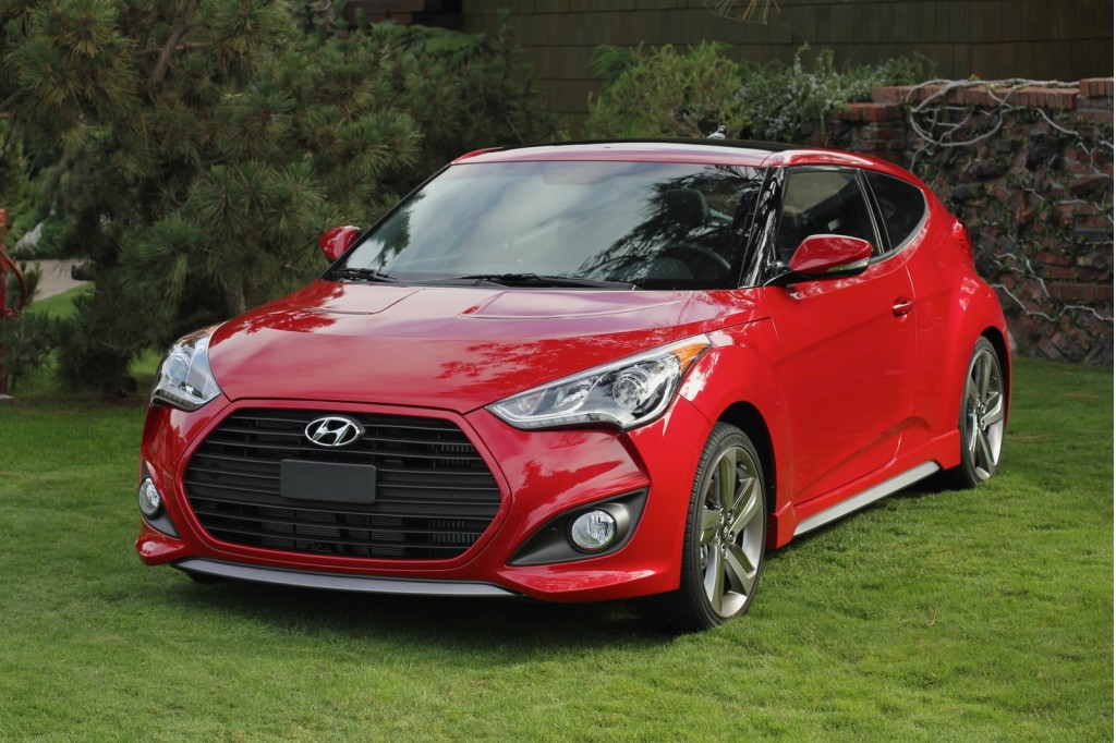 2013 hyundai veloster turbo goes to the matte. Black Bedroom Furniture Sets. Home Design Ideas
