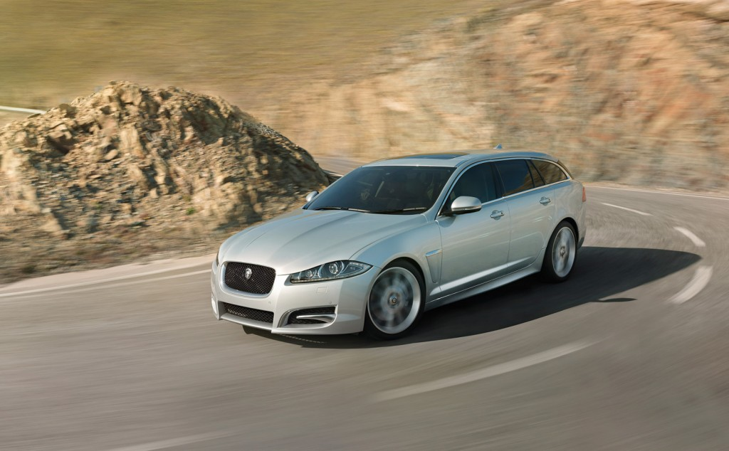 2013 jaguar xf sportbrake design and driving video. Black Bedroom Furniture Sets. Home Design Ideas