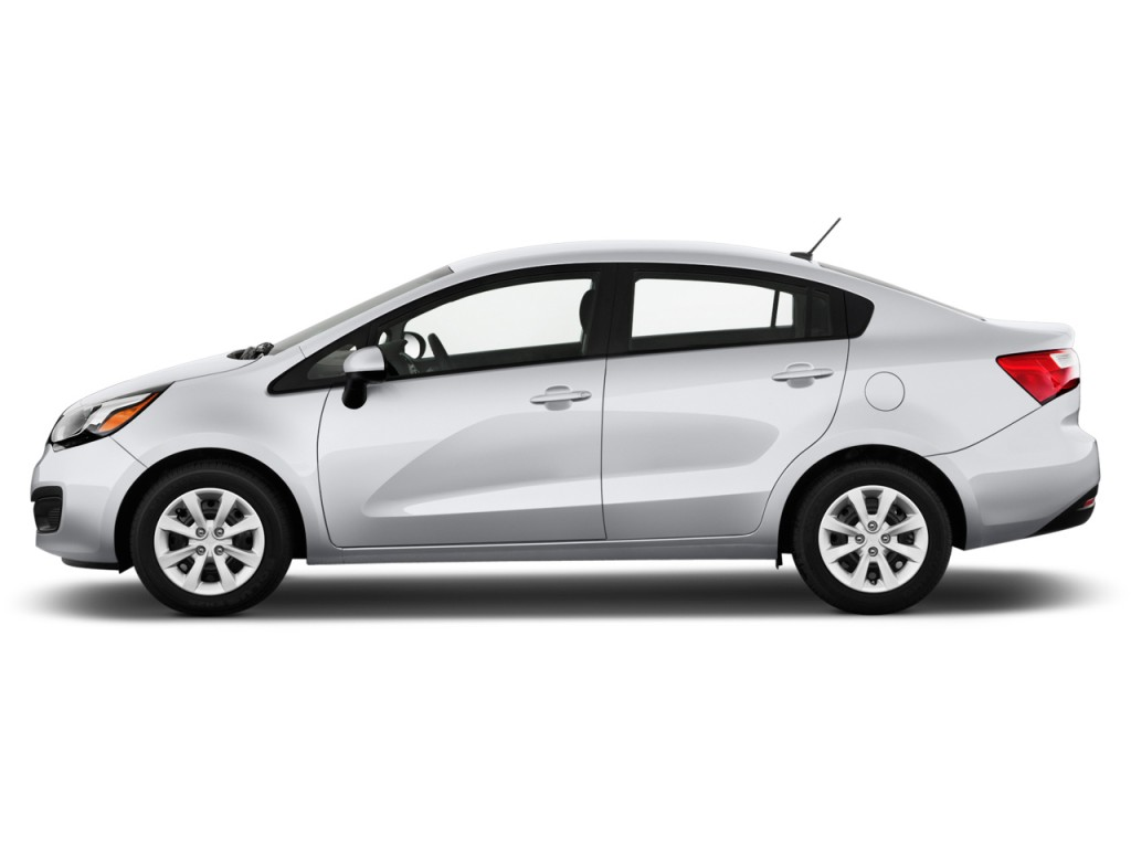 Image 2013 Kia Rio 4 Door Sedan Auto Lx Side Exterior View Size 1024 X 768 Type Gif Posted