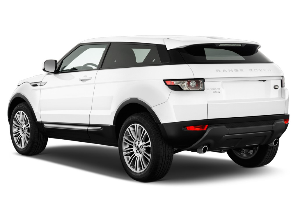 image 2013 land rover range rover evoque 2 door coupe pure plus angular rear exterior view. Black Bedroom Furniture Sets. Home Design Ideas