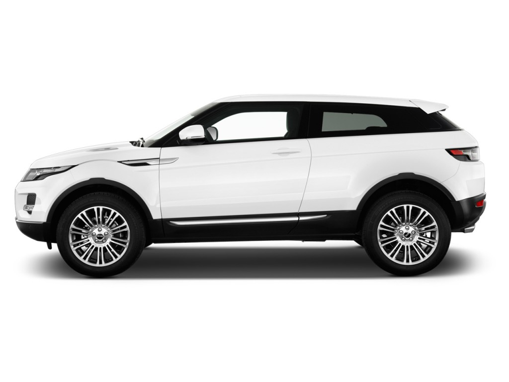 2013 Land Rover Range Rover Evoque 2 Door Coupe Pure Plus Side Exterior View