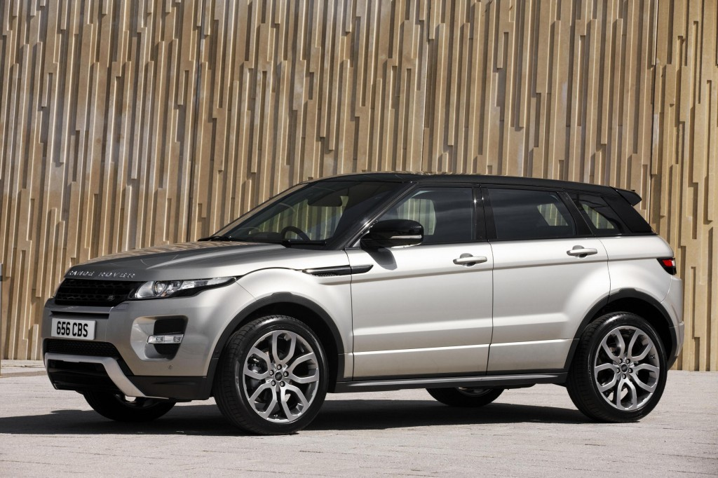 2013 land rover range rover evoque pure new entry level model. Black Bedroom Furniture Sets. Home Design Ideas