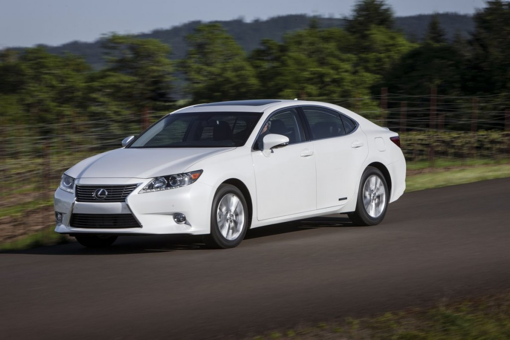 2013 lexus es 300h pricing and details announced. Black Bedroom Furniture Sets. Home Design Ideas