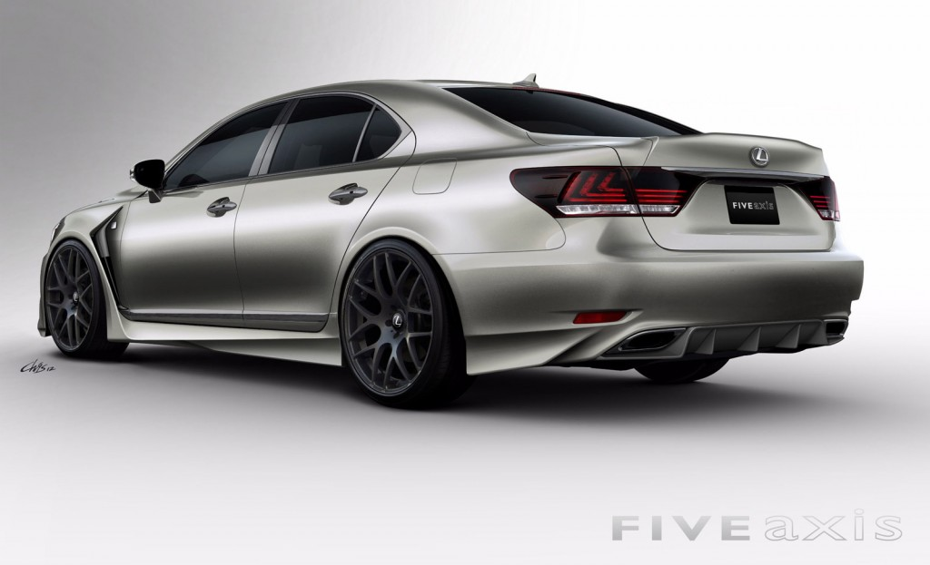 2013 Lexus LS 460 F Sport By Five Axis Heads To SEMA Show