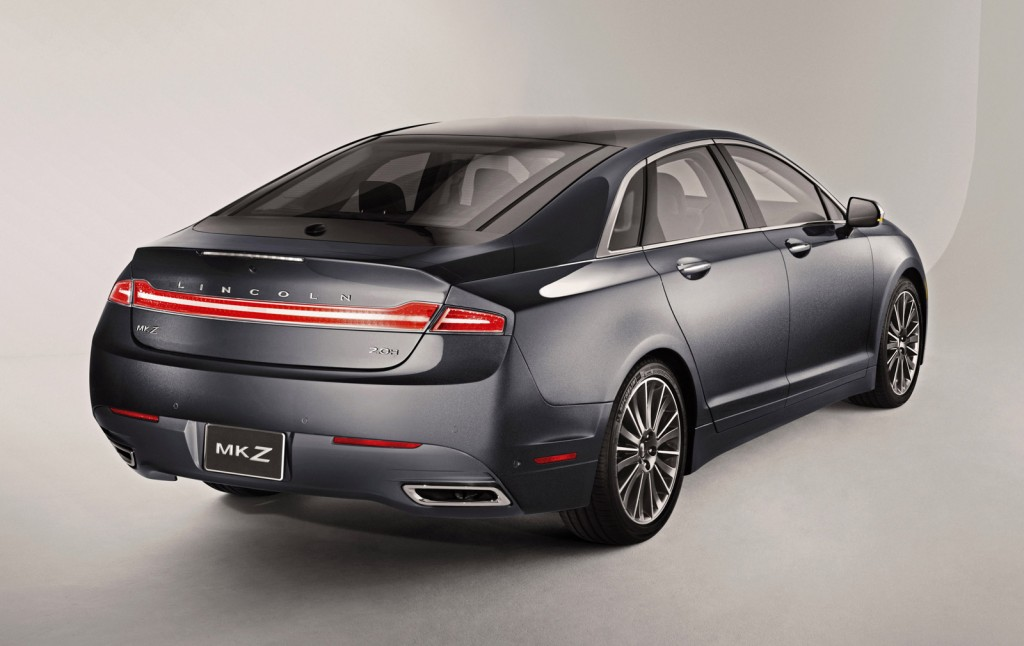 2013 lincoln mkz hybrid rated at 45 mpg combined by epa. Black Bedroom Furniture Sets. Home Design Ideas