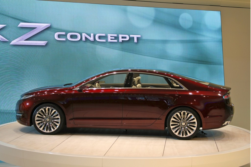 2013 lincoln mkz concept detroit auto show video. Black Bedroom Furniture Sets. Home Design Ideas