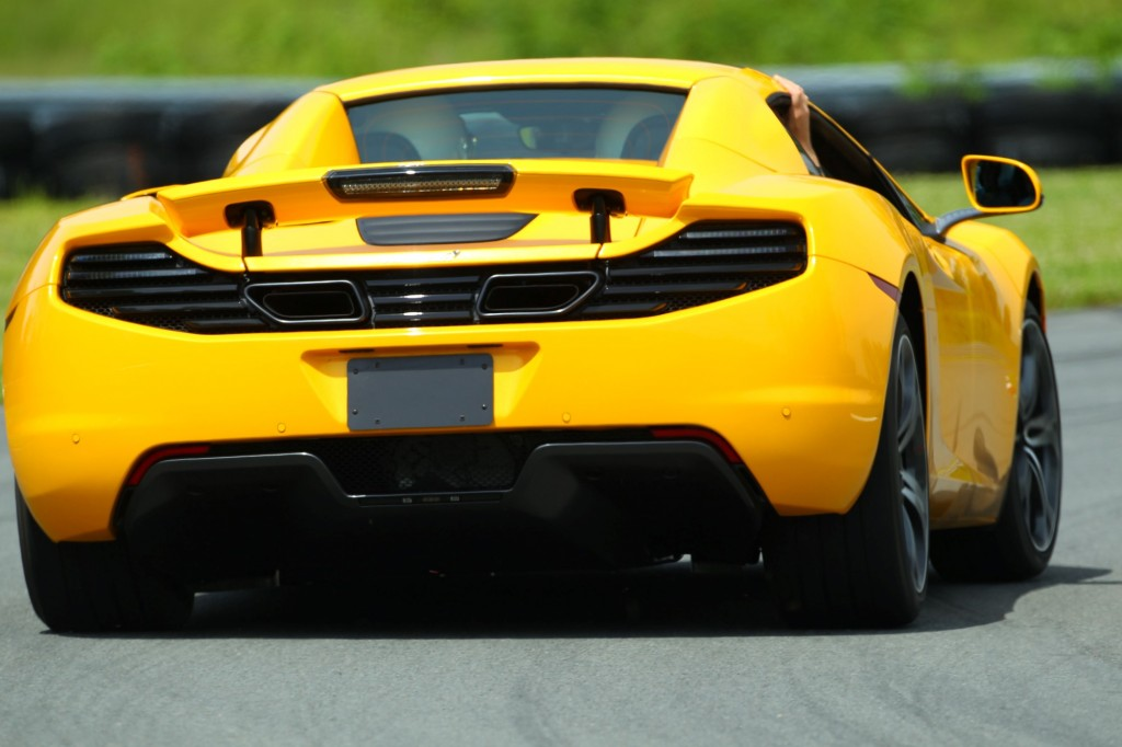 2013 McLaren MP4-12C Spider: Track Day