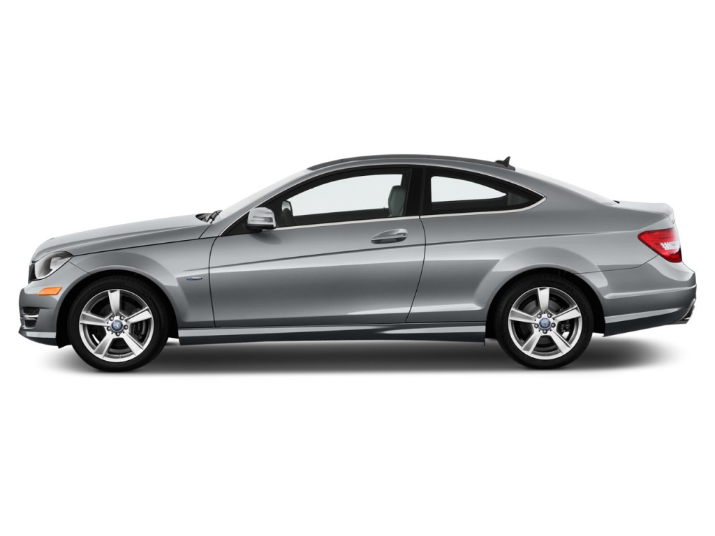 2013 Mercedes Benz C Class 2 Door Coupe C250 Rwd Side