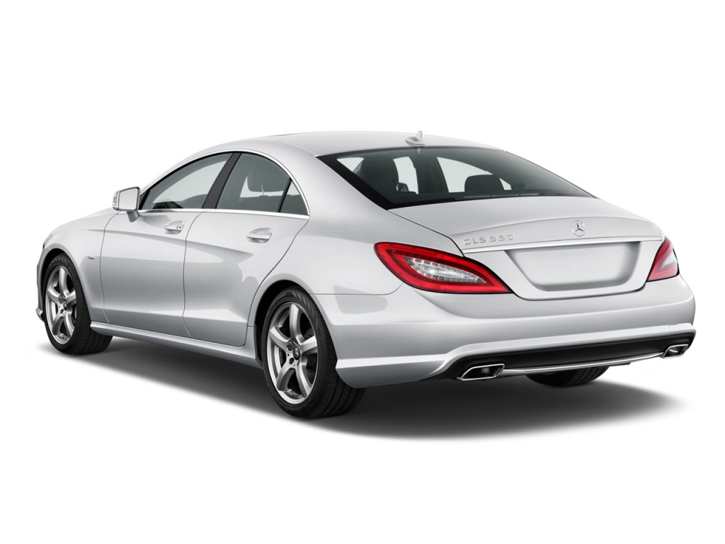 Image: 2013 Mercedes-Benz CLS Class 4-door Sedan CLS550 RWD ...