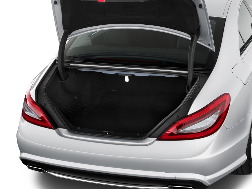 Image: 2013 Mercedes-Benz CLS Class 4-door Sedan CLS550 RWD Trunk ...